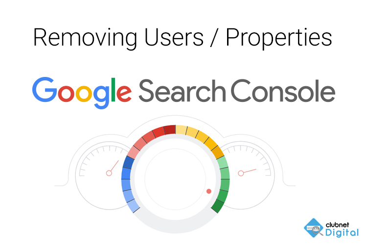 Removing Users or Properties in Google Search Console